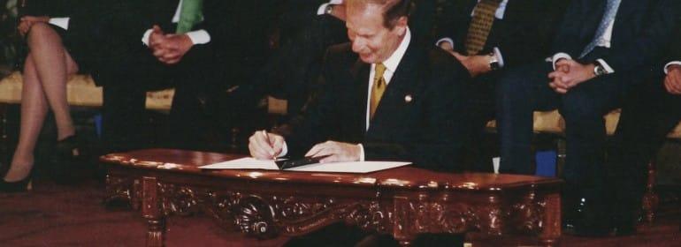 11x14 firma de la paz