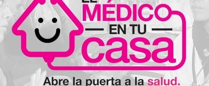 """Imagen de la campaña """"El médico en tu casa""""."""