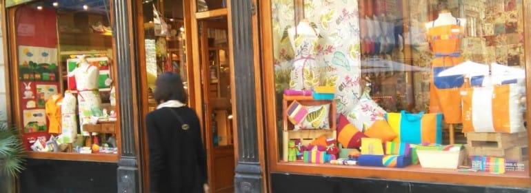 Un comercio local de Barcelona.