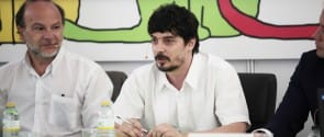 Antonio Zurita (izq) y Santiago Tobón (dcha)