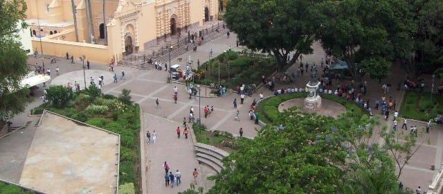 Plaza Central de Tegucigalpa