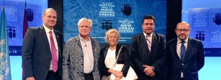 """""""Una ciudad de justa"""": reflexiones, aprendizajes y desafíos de las ciudades iberoamericanas"""