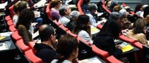 Imagen de la asamblea anual del Acuerdo Ciudadano de Barcelona.