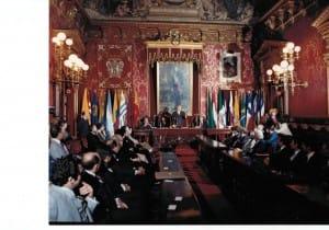 Nuestro inicio. En la Casa de la Villa de Madrid nació UCCI en 1982.