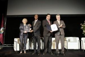 En esta cita, arrancó nuestro galardón Capital Iberoamericana de la Paz.