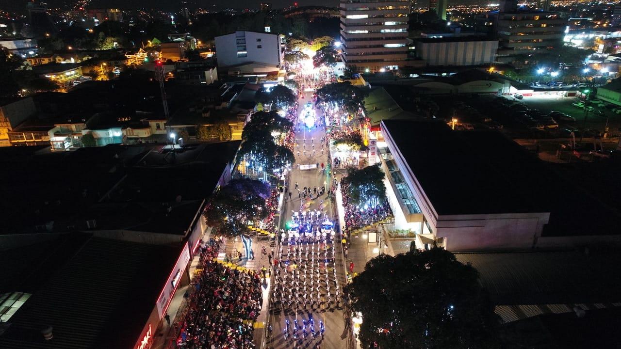El Festival de la Luz de San José reúne a más de un millón de ...