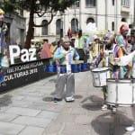 Entrega del galardón 'Capital Iberoamericana de las Culturas 2018' a La Paz (6 de febrero de 2018)