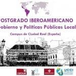[:es]Abierta hasta el 28 de febrero la recepción de candidaturas para el 'IV Posgrado Iberoamericano en Gobiernos y Políticas Locales'[:]