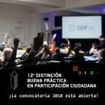 """[:es]El OIDP anuncia la convocatoria de la 12ª edición del galardón """"Buena Práctica en Participación Ciudadana"""", destinado a Gobiernos locales, municipales y supramunicipales[:]"""