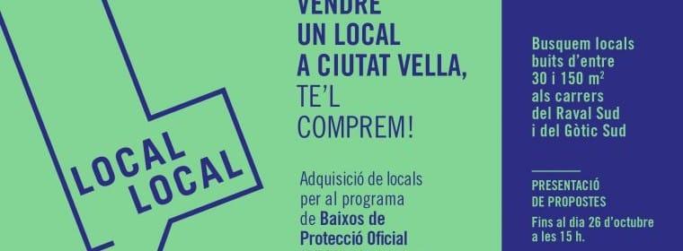 Bajos de protección oficial Barcelona