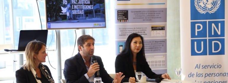 Avances en el ODS 16 en Buenos Aires