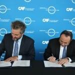[:es]CAF y 100 Resilient Cities firman un memorando de entendimiento para impulsar la sostenibilidad de las ciudades de América Latina[:]