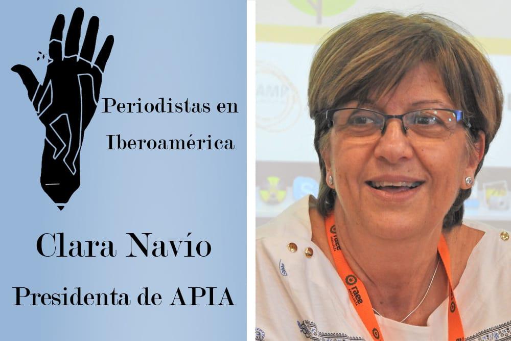 Clara Navío, presidenta de APIA