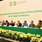 Ciudad de México presenta su Plan Integral para la Reconstrucción tras los terremotos de septiembre de 2017