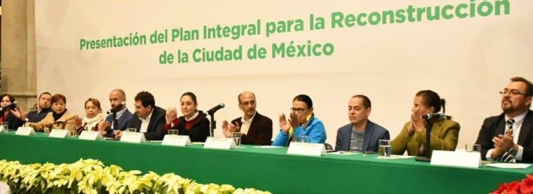 Reconstruccion ciudad de mexico