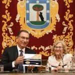 El presidente de Perú recibe las Llaves de la Ciudad de Lisboa y de Madrid