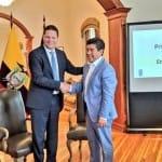 Jorge Yunda, alcalde electo de Quito, tomará posesión del cargo el 14 de mayo