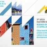 La UCCI participará en la III Cumbre de Cultura de CGLU en Buenos Aires