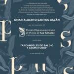 El 3 de junio se entregará en Madrid el IV Premio Hispanoamericano de Poesía de San Salvador 2019