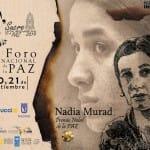 La Premio Nobel de la Paz Nadia Murad, protagonista del Foro Internacional de la Paz 2019 de Sucre