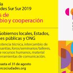 Financiación de hasta 10.000 dólares para iniciativas culturales dentro del programa de Cooperación Sur-Sur de Mercociudades