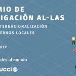 """II edición del """"Premio de investigación AL-LAs sobre la internacionalización de los Gobiernos locales"""""""