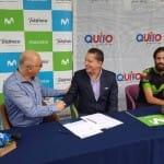 Quito y Telefónica se alían para fomentar la movilidad sostenible