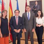 Alcaldes de San Salvador y Madrid establecen acuerdos de cooperación