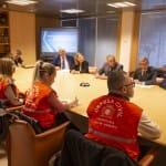 Defensa Civil de Río de Janeiro visita centros de protección en Madrid en un intercambio de buenas prácticas promovido por la UCCI