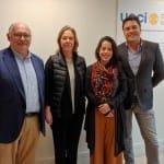 El Secretario de Relaciones Internacionales de São Paulo visita la UCCI