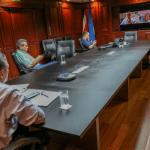 Alcaldes centroamericanos sostienen videoconferencia para compartir acciones ante la emergencia del COVID-19