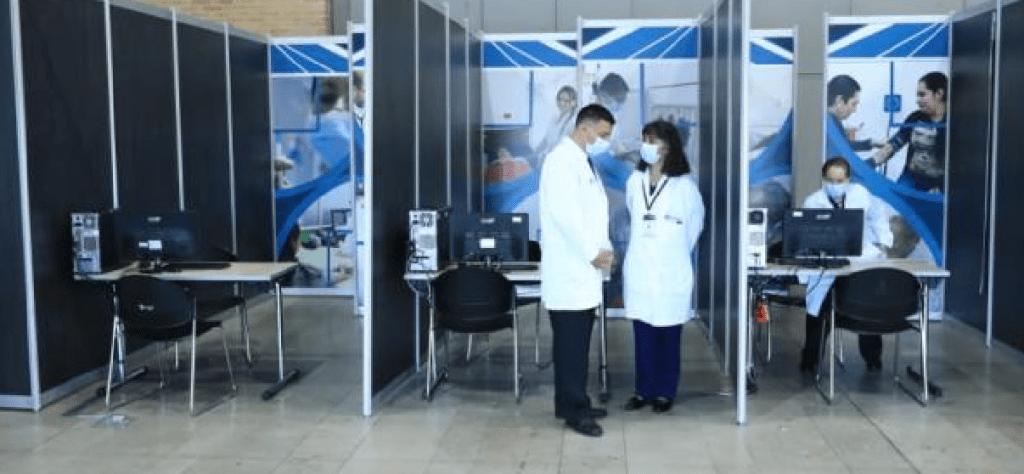 La mayor capacidad hospitalaria ya está instalada en Corferias.