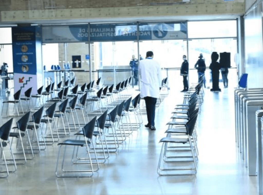 Sala de Espera para pacientes de Bogotá Región.