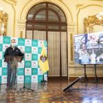 El alcalde de Lima presenta el balance de acciones implementadas durante el estado de emergencia decretado por el avance del Covid-19