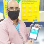 Prefeitura recebe doação de tablets para hospitais com pacientes em tratamento da Covid-19
