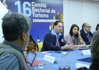 Comité Sectorial de Turismo de la UCCI (Madrid, 2018)