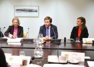 Reunión de Directores de Relaciones Internacionales y Coordinadores UCCI (Madrid, 2020)