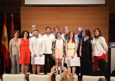 Entrega de los premios 'Somos Refugio' UCM-Ayuntamiento de Madrid (Madrid, 2017)