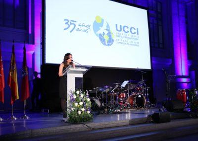 Conmemoración del 35 aniversario de la UCCI (Madrid, 2017)