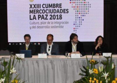 Comité Sectorial de Cultura (La Paz, 2018)