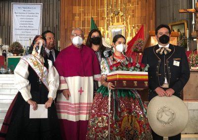 Tradición de entrega de Rosas a la Virgen de Guadalupe (Madrid-Ciudad de México, 2020)